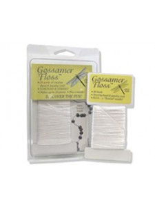 Gossamer Floss 5 yards  0.5mm dia. White