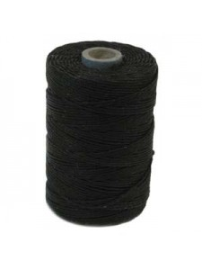 Irish Waxed Linen 2ply ~200yds Black