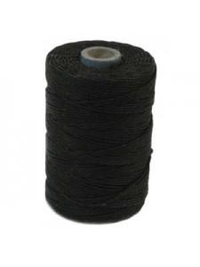 Irish Waxed Linen 3ply ~120yds Black