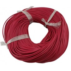 Leather Round 1mm Deep Pink - 3mtr