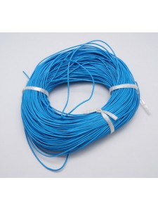 Leather Round 1mm Sky Blue - 3 meters