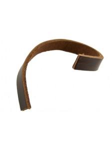 Leather 6mm (W)x 2.5mm (T) Brown - per m