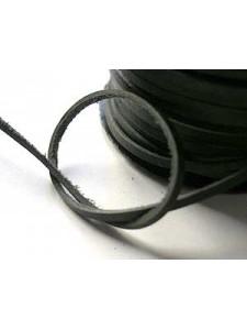 Craft Leather Flat 1.75x1mm Black 25mtr