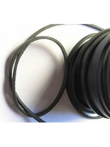 Craft Leather 2x1mm Black 25mtr