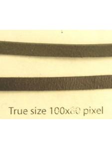 Craft Leather Flat 4x1mm Black 25m
