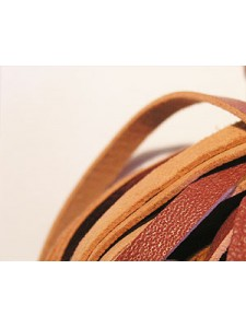 Nappa Leather 4mm Marron 3mt