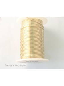 Tarnish Resist Wire 18 gauge Gold plated