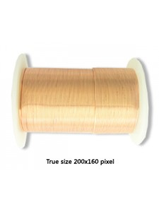 Tarnish Resist Copper Wire 22 gauge 20YD