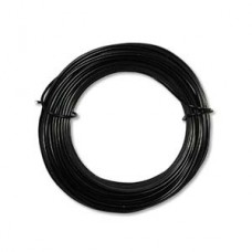 Aluminium Wire 18ga 39 foot  Black