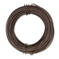 Aluminium Wire 18ga Matte Brown 39FT