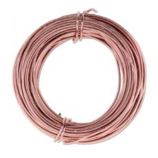 Aluminium Wire 18ga Rose Gold 39FT