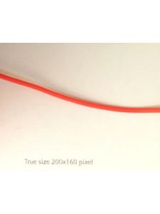 Rubber 2.0mm Cherry - per mtr
