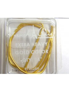 French Wire Gold extra heavy  14 in