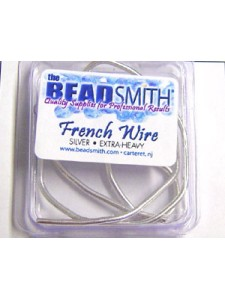 French Wire Silver 1.8mm   14 in