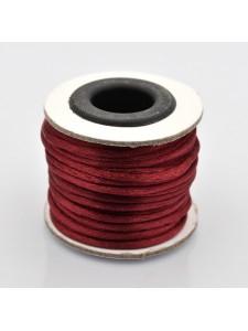 Rattail Nylon Cord 2mm ~10mtrs Dark Red