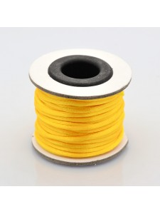 Rattail Nylon Cord 2mm ~10mtrs Gold