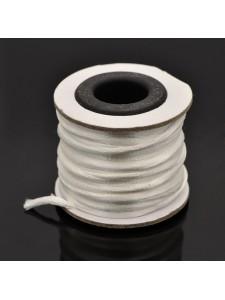 Rattail Nylon Cord 2mm ~10mtrs White