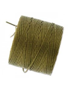 S-Lon Cord #18 0.5mm 77 yards Antiq Gold