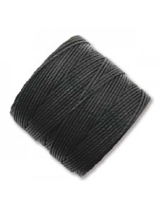 S-Lon Cord #18 0.5mm 77 yards Black