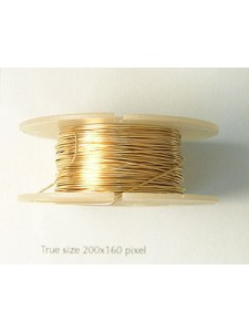 Wire Gold filled #2 Hard 24gauge 0.5oz