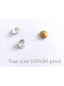 Chanton Stone PP32 Crystal Foiled