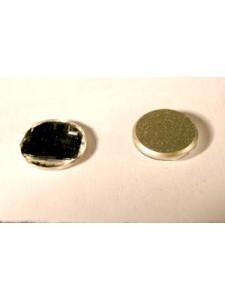 Swar Chessborad Circle 10mm Clear Foiled