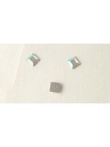 Swar Flat Square Stone 3mm AB-Hot Fix