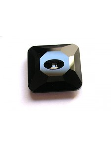 Swar Square Button 16mm Jet