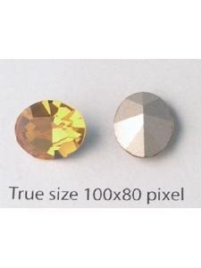 Swar Oval Stone 12x10mm Topaz