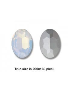 Swar Oval Stone 30x22mm White Opal