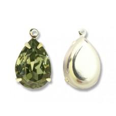 Swar Pear Stone 14mm Black Diamond SP