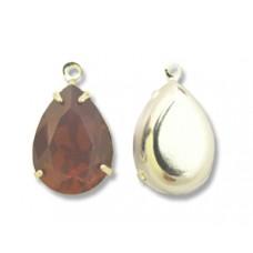 Swar Pear Stone 14mm Cyclamen Opal SP
