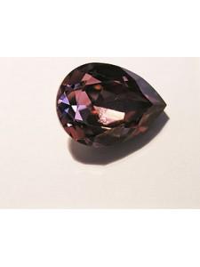 Swar Drop Stone 18x13mm Ant Pink F