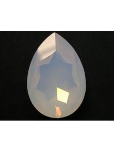 Swar Pear Stone 40x27mm Whiteopal