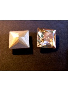 Swar Square Stone 10mm Golden Shadow