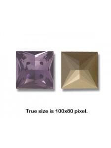 Swar Princess Square 12mm Tanzanite