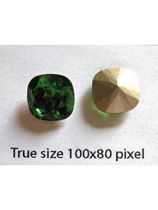 Swar Stone 10mm Dark Moss Green