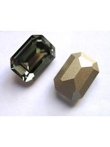 Swar Rect Stone 14x10mm Black Diamond