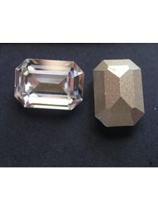 Swar Rectangular Stone 14x10mm Clear F