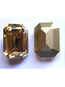 Swar Rect. Stone 18x13mm Golden Shadow