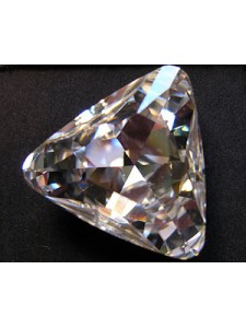 Swar Triangle Stone 23mm Clear Foiled