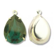 Swar Pear Stone 18mm Emerald SP 1 Ring