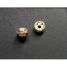 Diamonte Rondel (Asia) 5mm Clear NFP