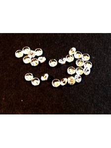 Cubic Zirconia White 2.50mm Round -25pcs