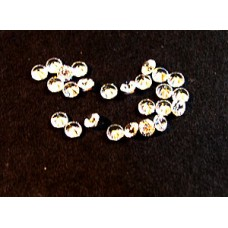 Cubic Zirconia White 2.75mm Round -25pcs