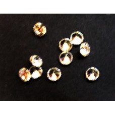 Cubic Zirconia White 4.00mm Round -10pcs