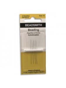 Beading Needles #15 4/pkt English