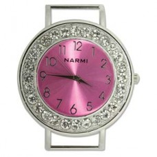 Watch Face Round Hot Pink 48mm
