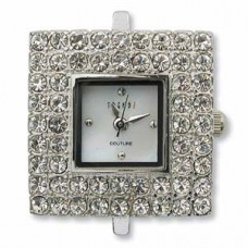 Square Watch Face w/Crystal
